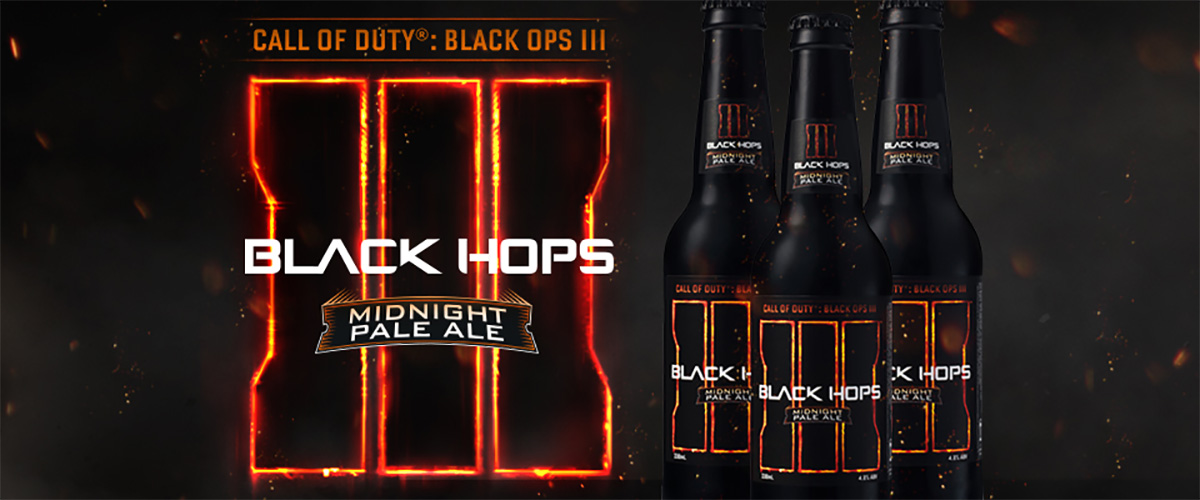 CALL OF DUTY: BLACK HOPS III Midnight Pale Ale